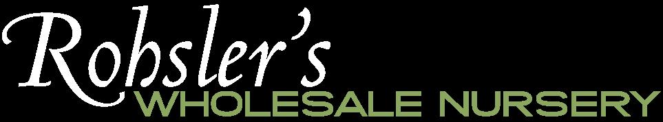 Rohsler's Allendale Nursery | Wholesale